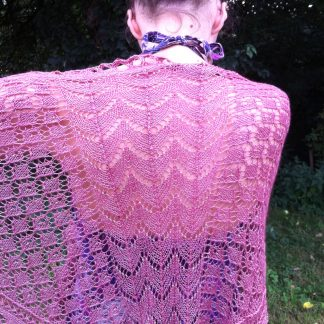 UnicornKnits Judith shawl